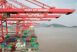 Ningbo seaport